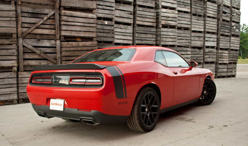 2019 Dodge Challenger 392 Shaker redesign