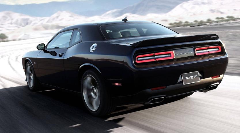 2019 Dodge Challenger Black Colors design