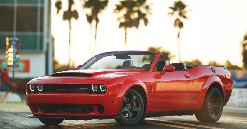 2019 Dodge Challenger Convertible redesign