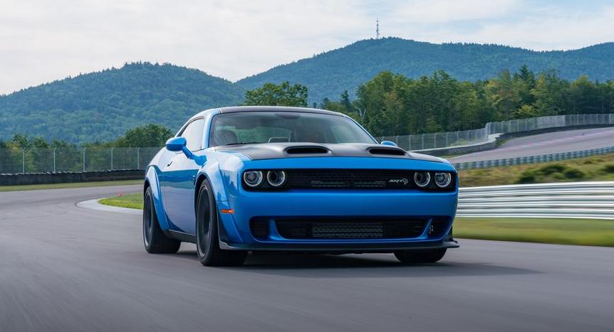 2019 Dodge Challenger Hood changes