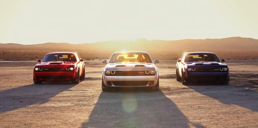 2019 Dodge Challenger Lineup design