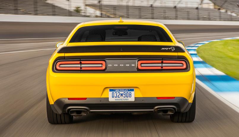 2019 Dodge Challenger SRT 392 redesign