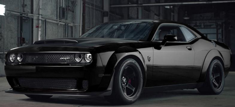 2019 Dodge Challenger SRT Demon redesign