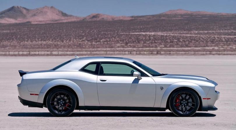 2019 Dodge Challenger SRT Redeye changes