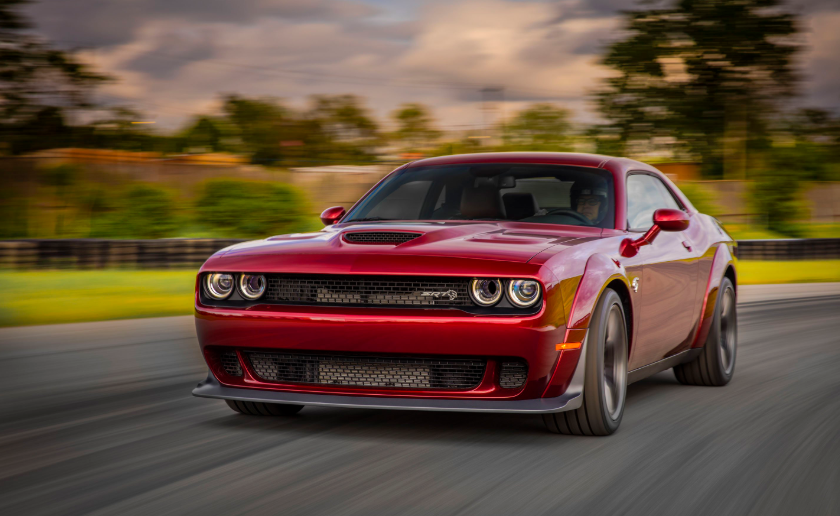 2019 Dodge Challenger V8 changes