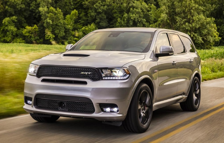 2019 Dodge Durango SRT8 changes