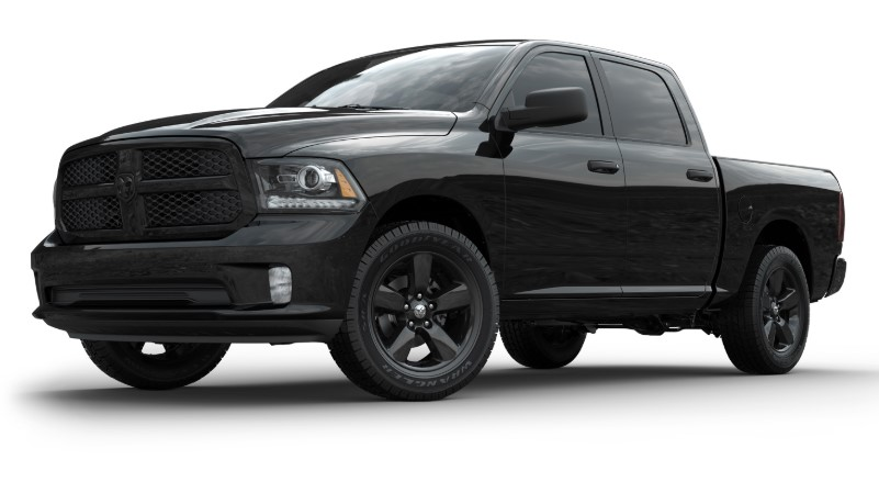 2019 Dodge Laramie Blackout release date