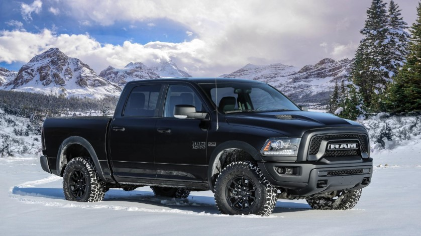 2019 Dodge Ram 1500 Black changes