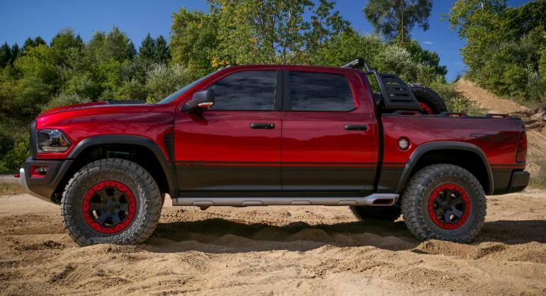 2019 Dodge Ram Rebel TRX changes