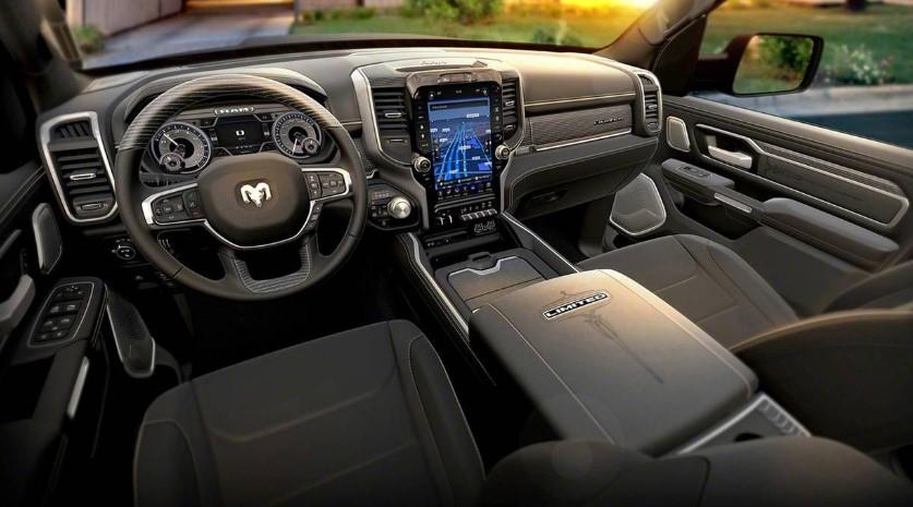 2019 Dodge Ram interior