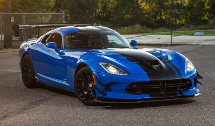 2019 Dodge Viper ACR changes