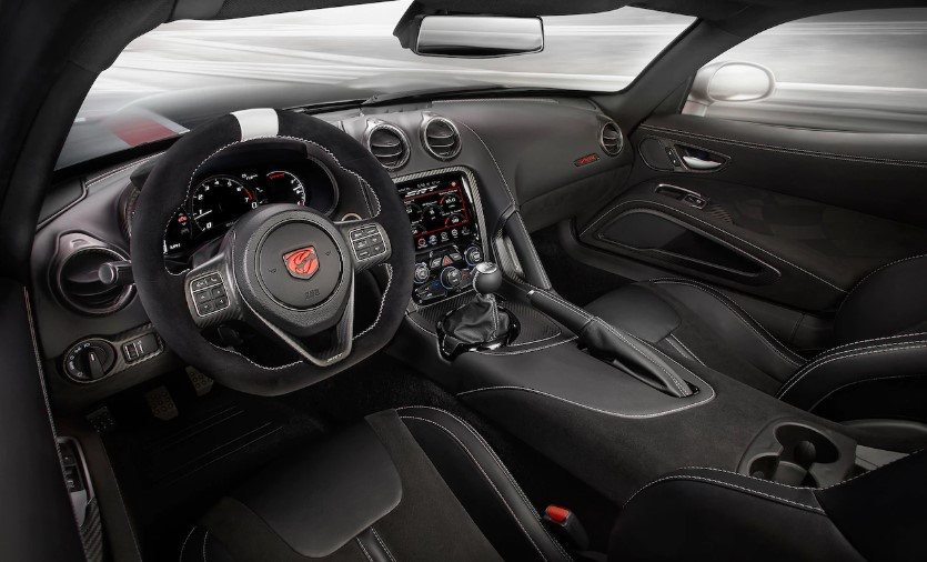 2019 Dodge Viper Convertible interior