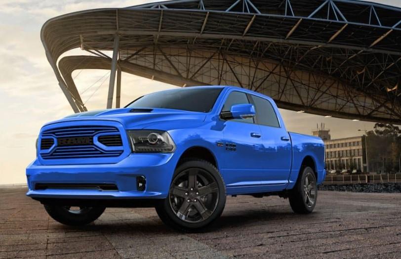 2019 Ram 1500 Hydro Blue Sport news