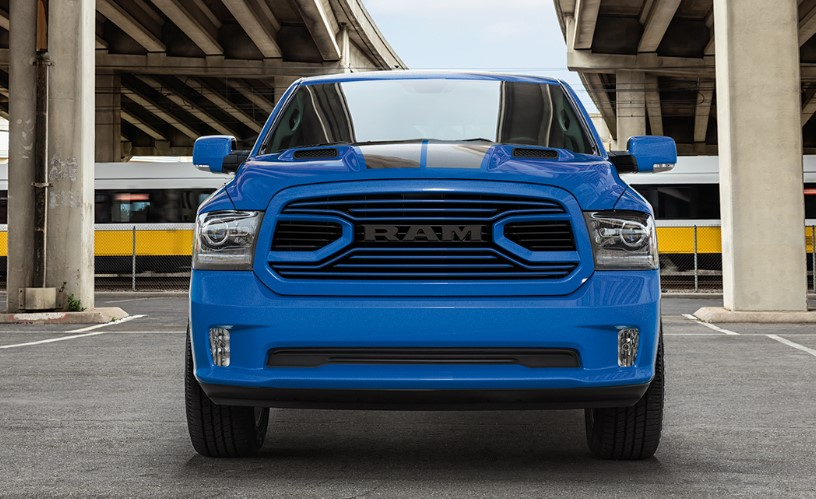 2019 Ram 1500 Hydro Blue Sport release date