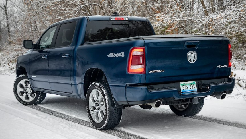 2019 Dodge Ram 1500 North Edition changes