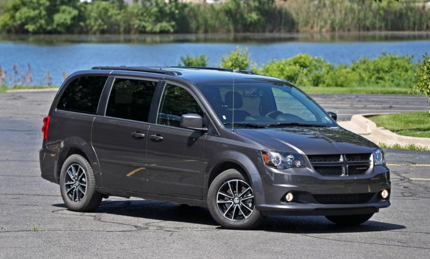 2020 Dodge Grand Caravan MPG changes