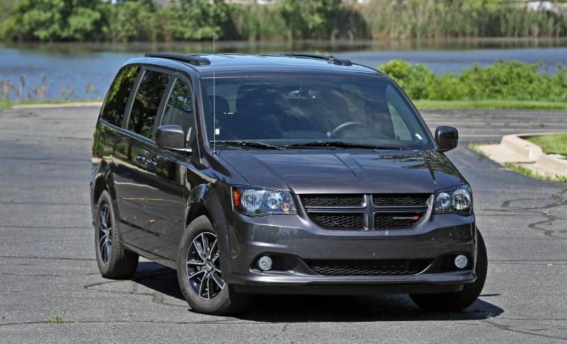 2020 Dodge Grand Caravan SE interior