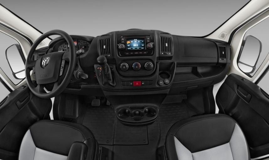 2020 Dodge Promaster 2500 changes