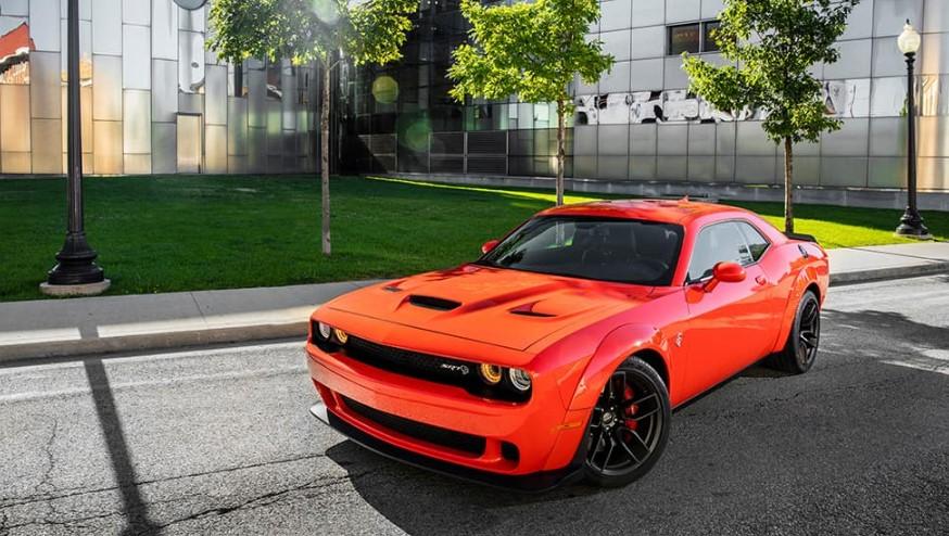 2020 Dodge Challenger Hellcat Widebody changes