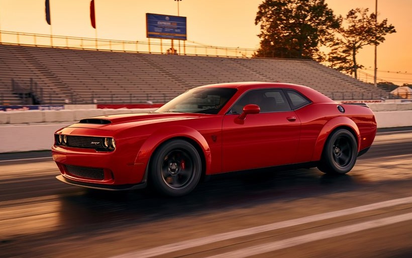 2020 Dodge Challenger SRT Demon concept