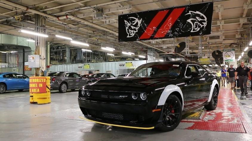 2020 Dodge Challenger SRT Demon changes