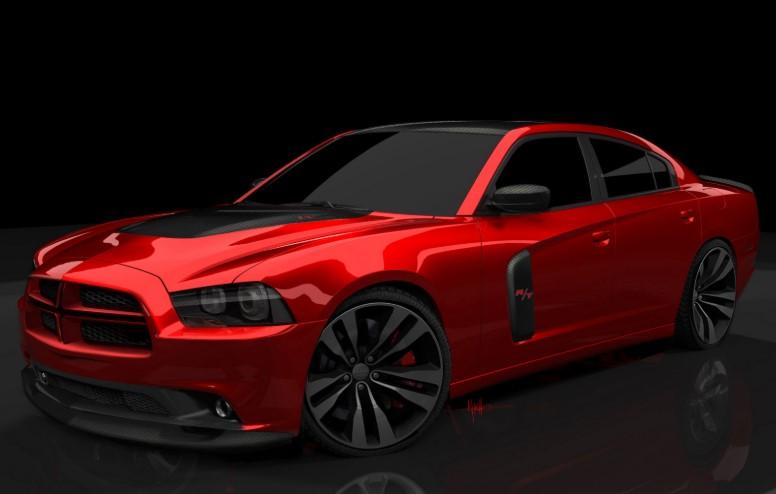 2020 Dodge Charger Demon concept