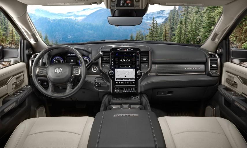 2020 Ram Heavy Duty interior