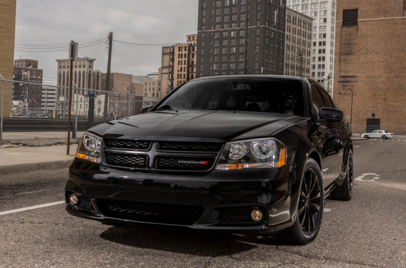 2020 Dodge Avenger Blacktop Edition release date