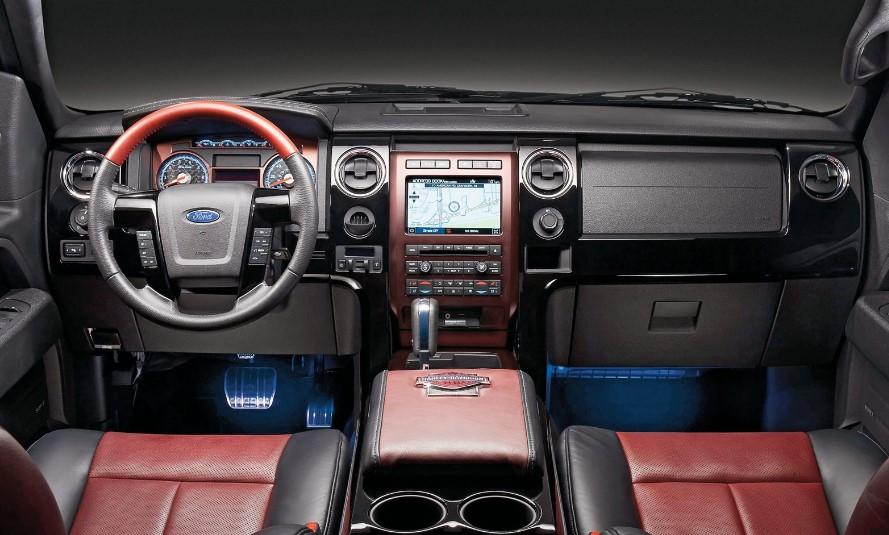2020 Ford F 150 Lightning interior