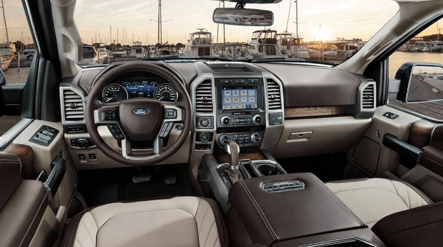 2021 Ford F 150 interior 1