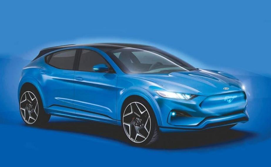 2021 Ford Mach E concept
