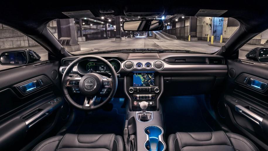 2021 Ford Mach E interior