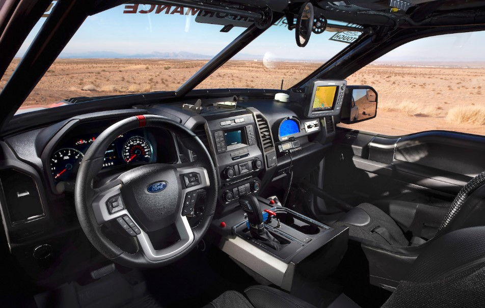 2020 Ford Bronco Pickup interior