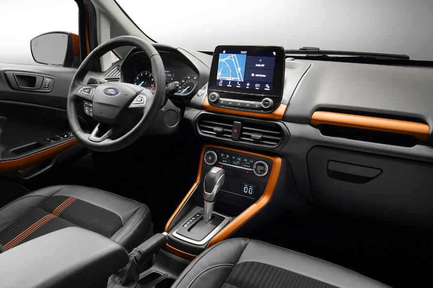 2020 Ford EcoSport Hybrid interior
