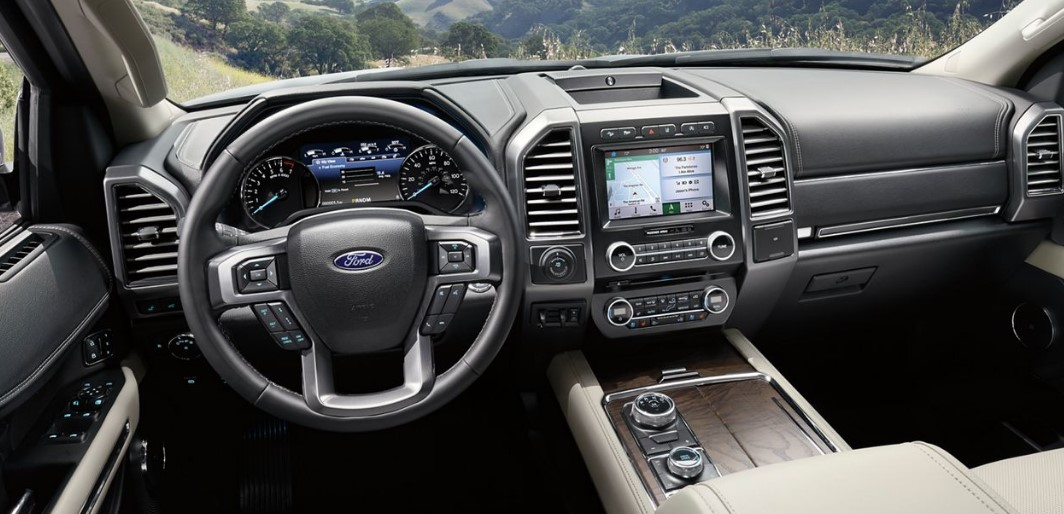 2020 Ford Expedition Automatic interior
