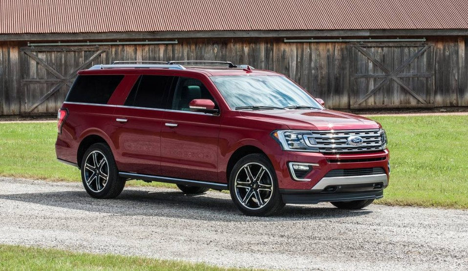 2020 Ford Expedition Limited Texas Edition changes