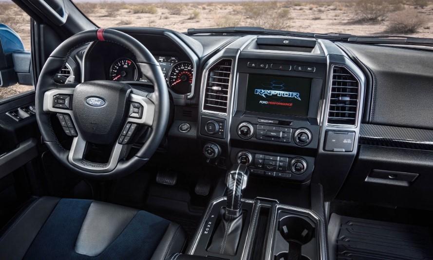 2020 Ford F 150 Raptor SuperCrew interior