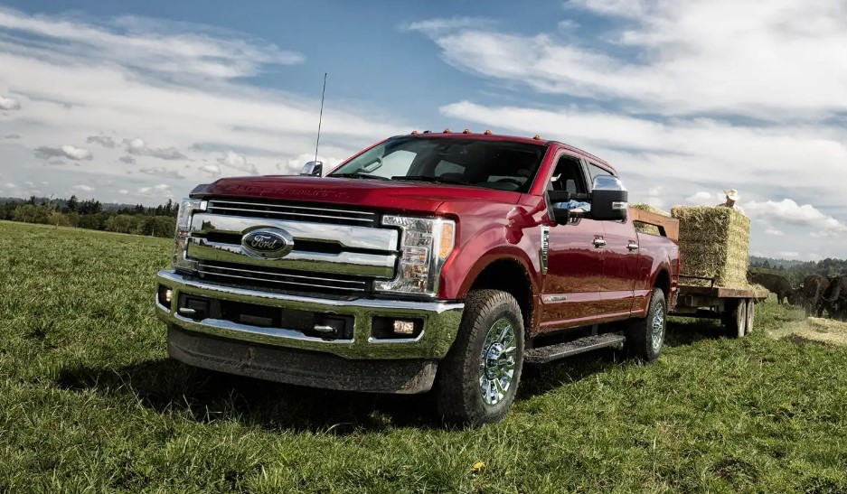 2020 Ford F 250 changes