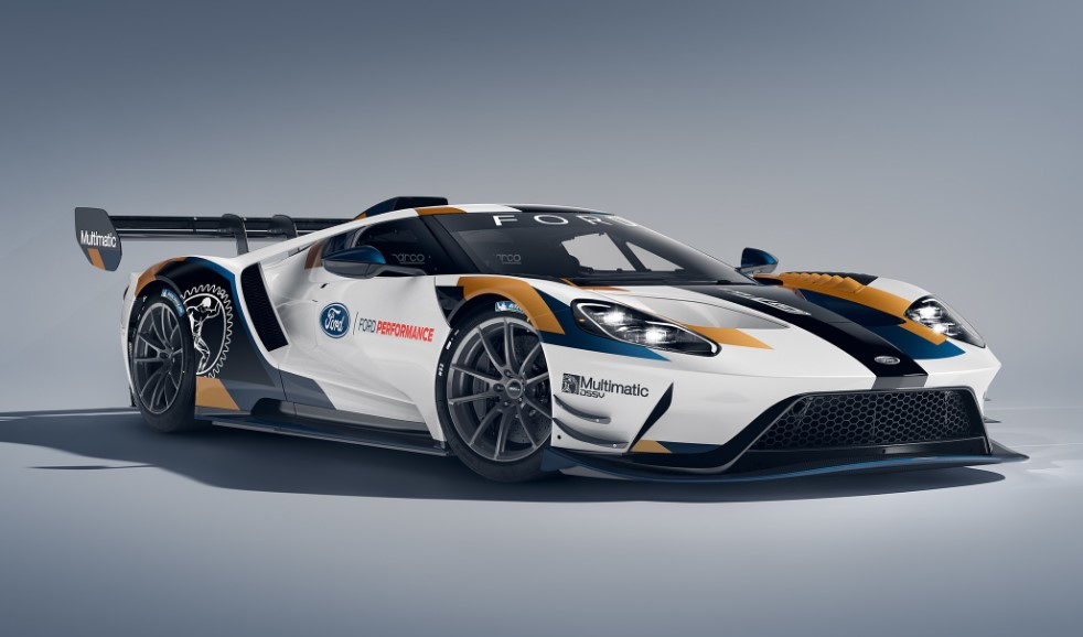 2020 Ford GT MK II changes