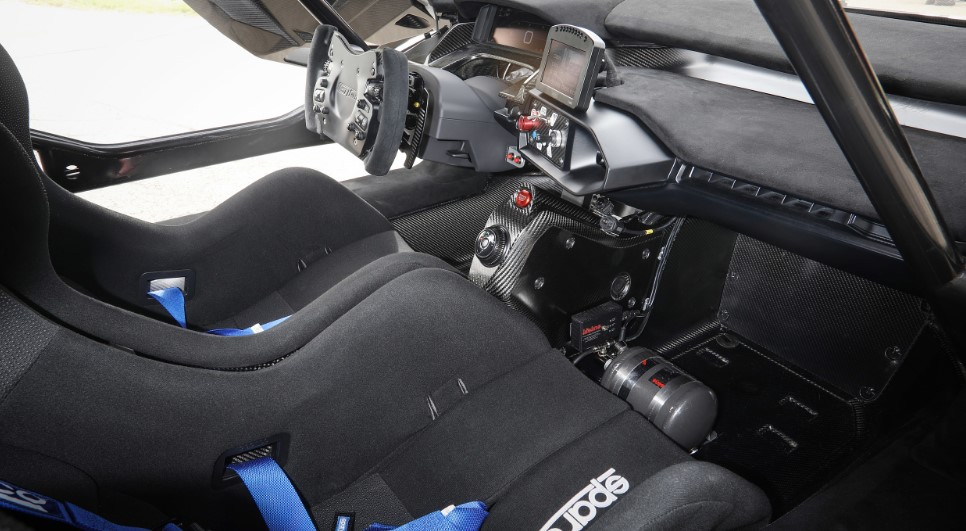 2020 Ford GT MK II interior
