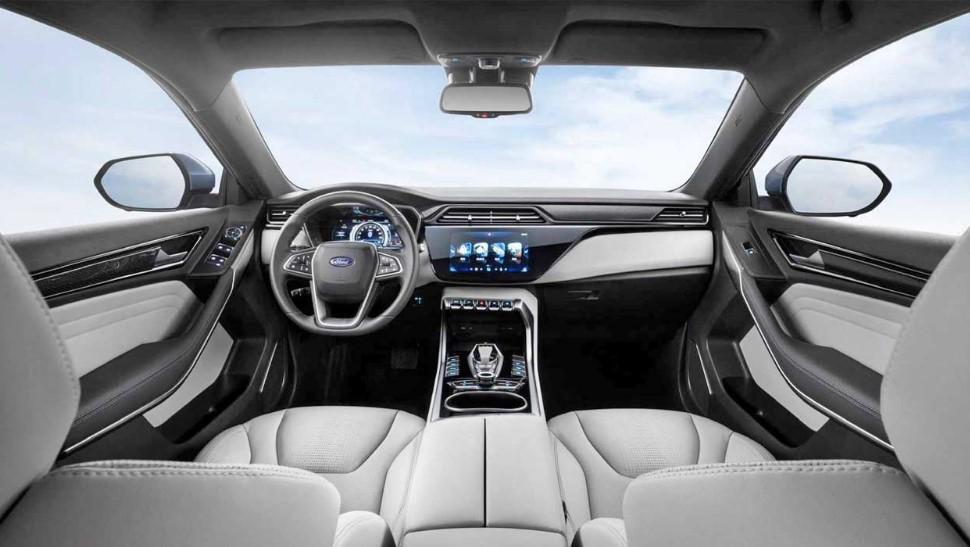 2020 Ford Territory EV interior