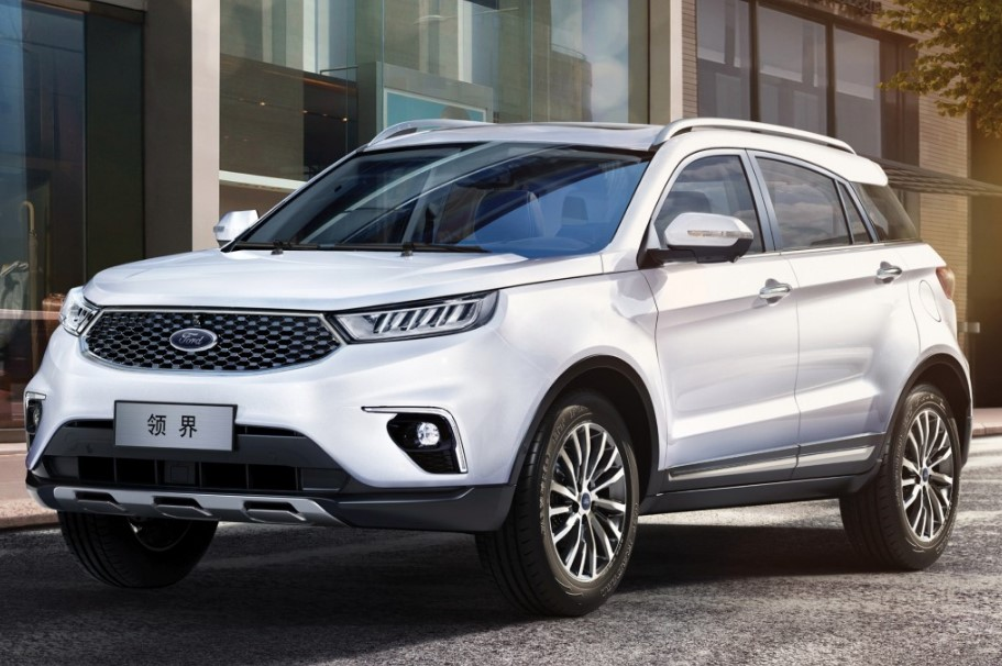 2020 Ford Territory changes