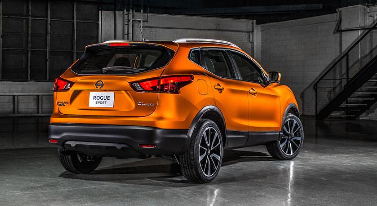 2020 Nissan Rogue Sport redesign