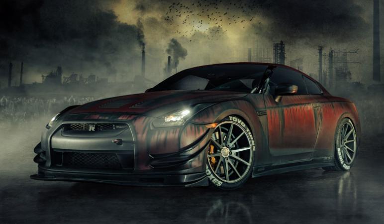 Nissan GTR R35 2020 design