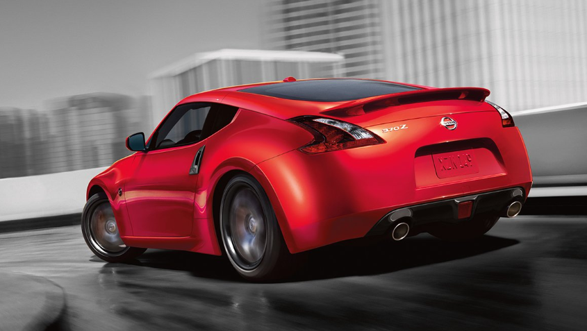 2019 Nissan 370Z Sport Coupe design