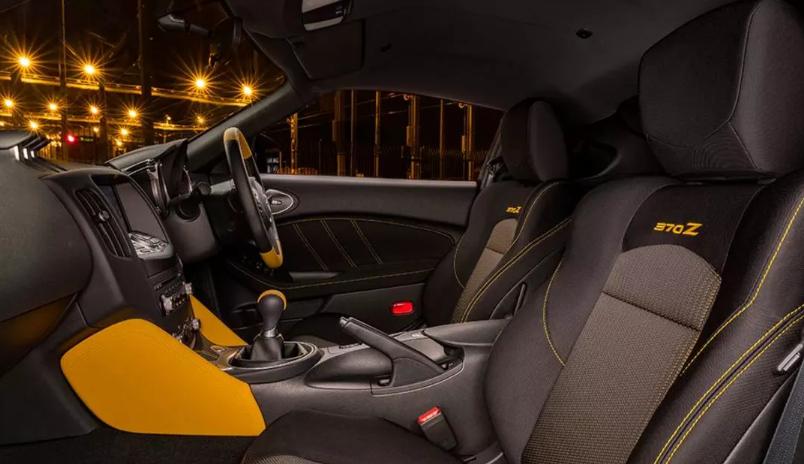 2019 Nissan 370Z design