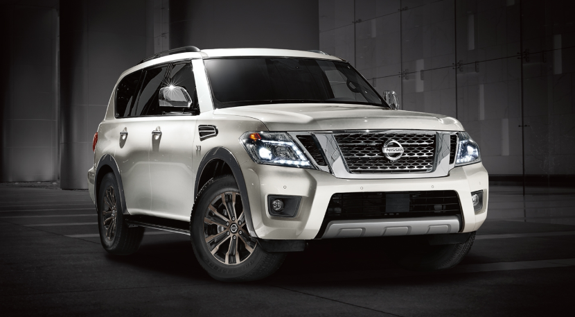 2019 Nissan Armada changes