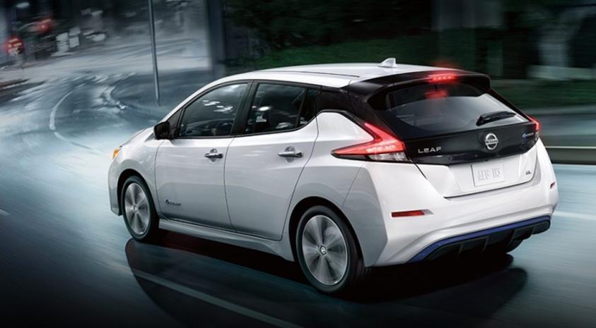 2019 Nissan Leaf SL redesign