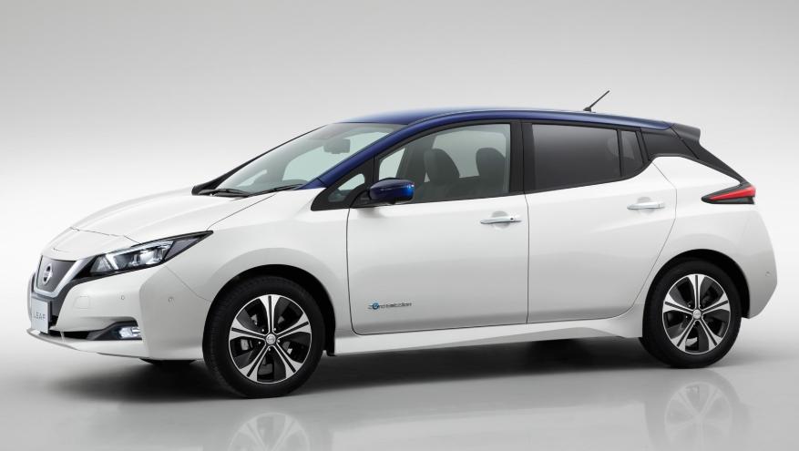 2019 Nissan Leaf USA design