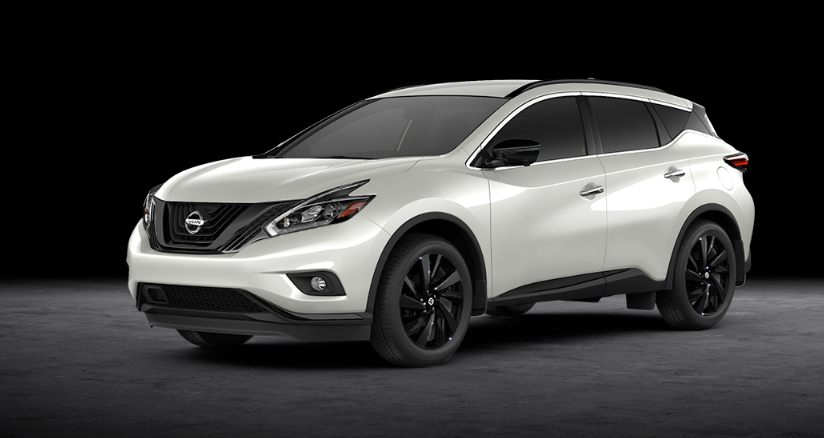 2019 Nissan Murano Midnight Edition redesign